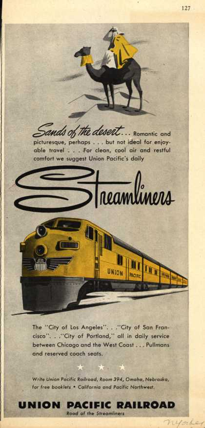 Union Pacific Railroad's Streamliners – Sounds of the desert...Streamliners (1950)