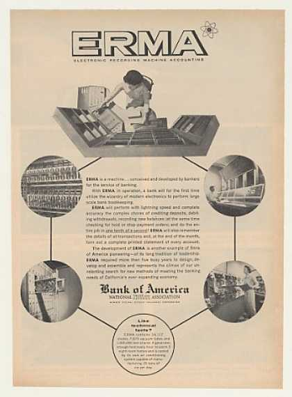 Bank of America ERMA Electronic Computer (1955)