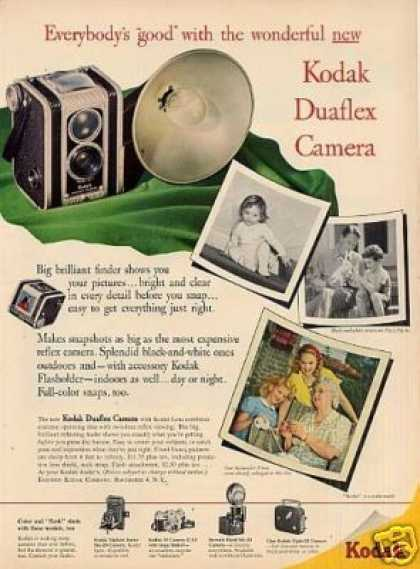 Eastman Kodak Duaflex Camera (1948)