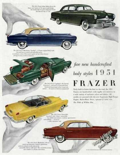 1951 Frazer (5) Color Pictures (1950)