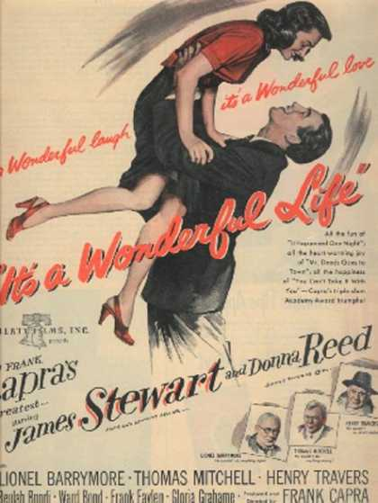 It's A Wonderful Life (James Stewart and Donna Reed) (1947)