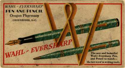 Oregon Pharmacy's Wahl-Eversharp Pen and Pencil – Wahl-Eversharp