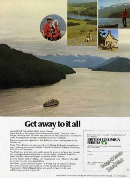 British Columbia Inside Passage Photo Travel (1976)