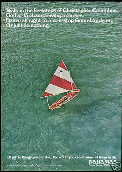 Bahamas Bahama Islands Travel Sailfish Boat (1969)