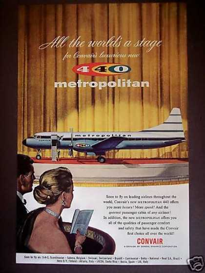 "Convair Metropolitan 440 ""New"" Airliner Plane (1956)"