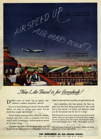 The Airlines of the United State's Air Travel – Now! Air Travel is for Everybody (1946)