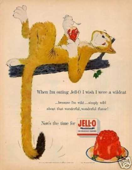 "Jello Ad ""I Wish I Were a Wildcat"" (1955)"
