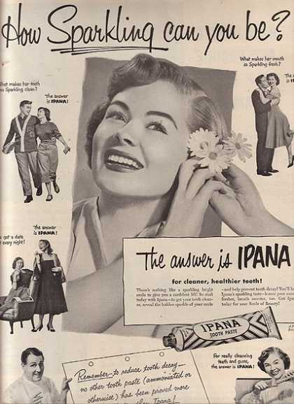 Ipana's Tooth Paste (1951)