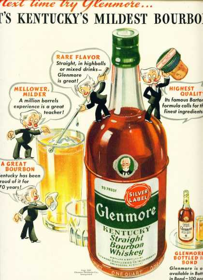 Glenmore Kentucky Straight Bourbon Whiskey (1942)