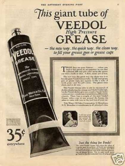 Veedol Hair Grease (1925)