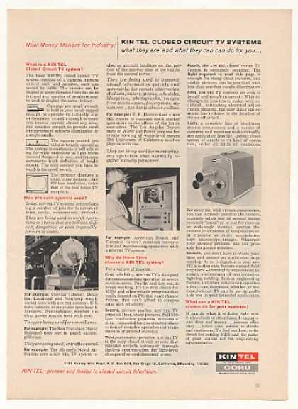 Kin Tel Closed Circuit TV System (1961)