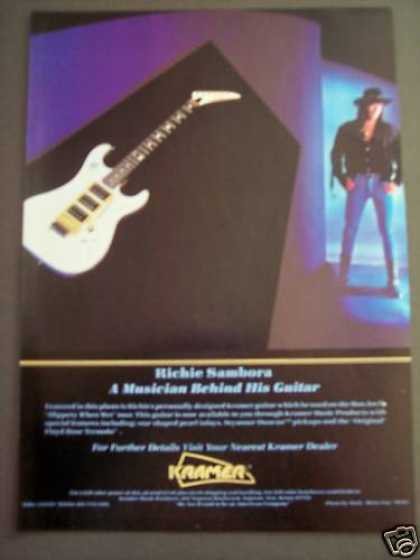 Richie Sambora Kramer Guitar Music (1988)