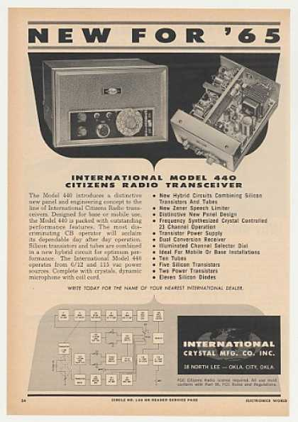 International 440 Citizens Radio Transceiver (1965)
