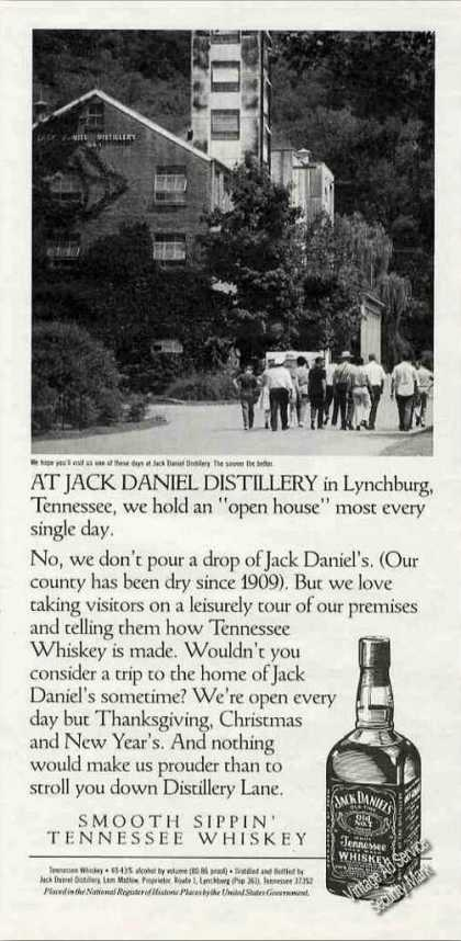 "Jack Daniel Distillery Photo ""Open House"" (1991)"