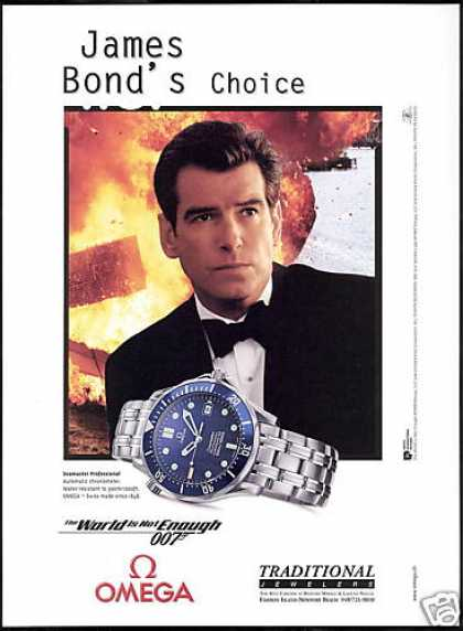 Pierce Brosnan 007 Omega Seamaster Watch (1999)
