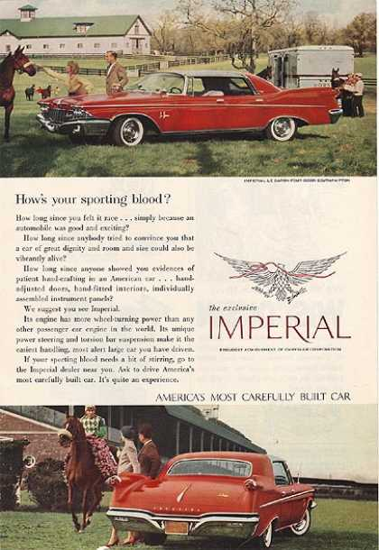 Chrysler's Imperial (1960)