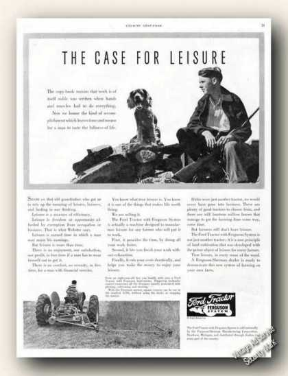 Ford Tractor the Case for Leisure Antique Farm (1941)