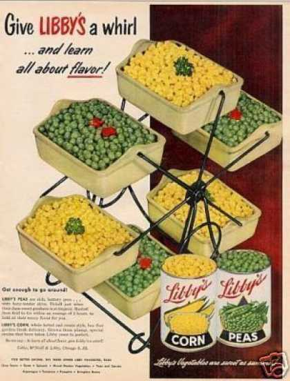 Libby's Vegetables (1952)