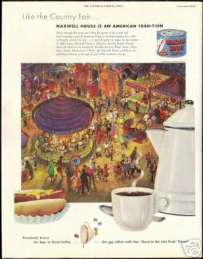 County Fair Maxwell House Coffee Tradition (1951)