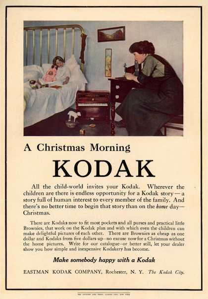 Kodak – A Christmas Morning Kodak