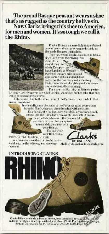 Introducing Clarks Rhino Canvas Boot (1975)