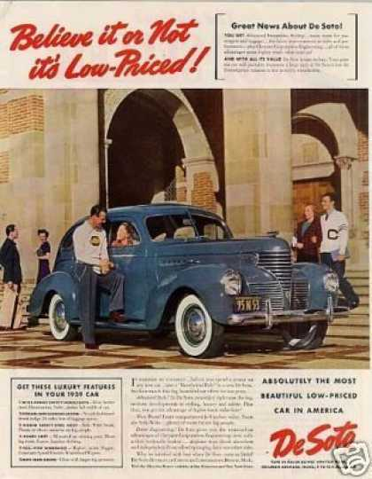 Desoto Car Color (1939)