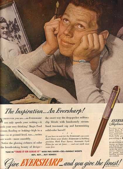 Eversharp's Skyliner Pen (1944)
