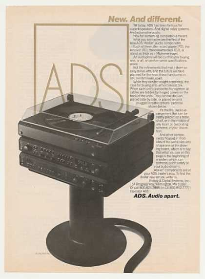 ADS Atelier Stereo System Vintage (1982)