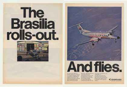 Embraer EMB-120 Brasilia Maiden Flight 2-Page (1983)