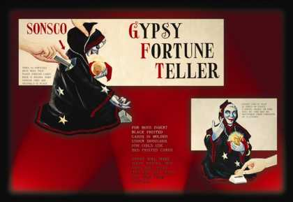 Gypsy Fortune Teller Instructions