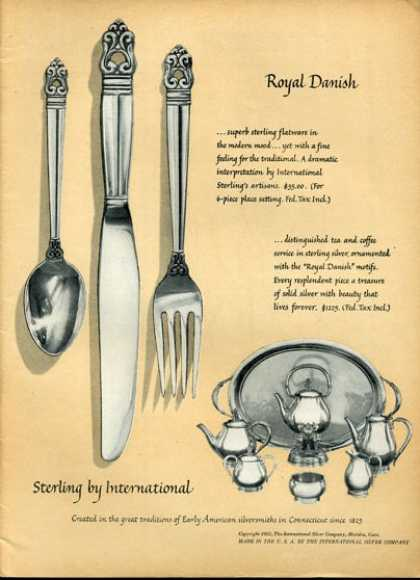 International Sterling Silver Royal Danish (1951)