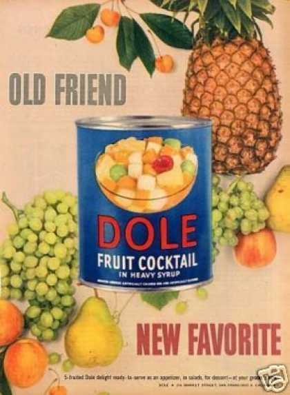 Dole Fruit Cocktail (1949)