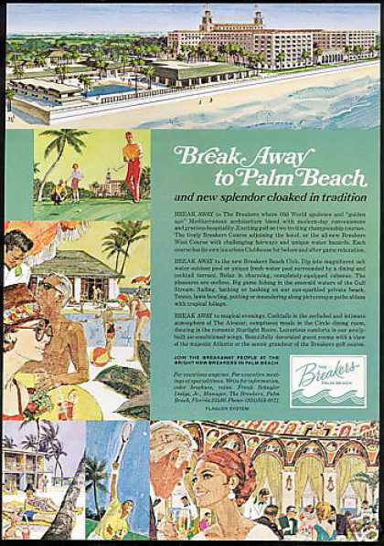 The Breakers Hotel Resort Palm Beach Florida (1969)