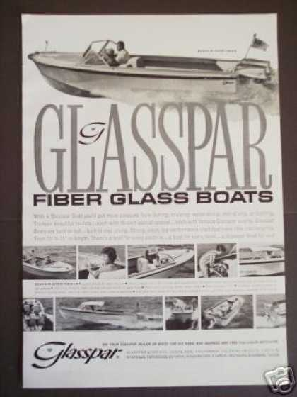 Glasspar Seafair Sportsman Boat Boating (1962)