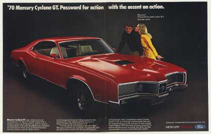Mercury Cyclone GT Password Action (1970)