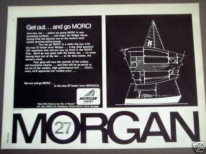 Morgan Yacht 27-foot Boat (1971)