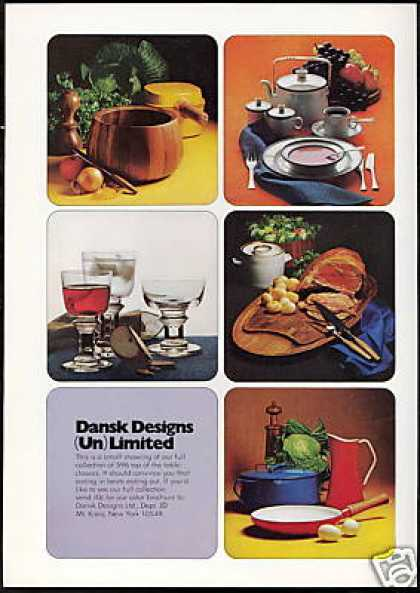 Dansk Design Ltd 5 Photo Vintage (1971)