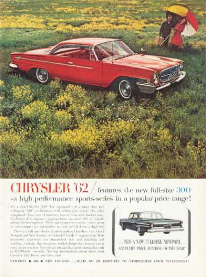 Rare Chrysler 300 380 Hp Picnic (1962)