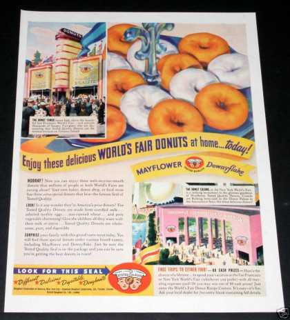 New York Worlds Fair Donuts (1939)