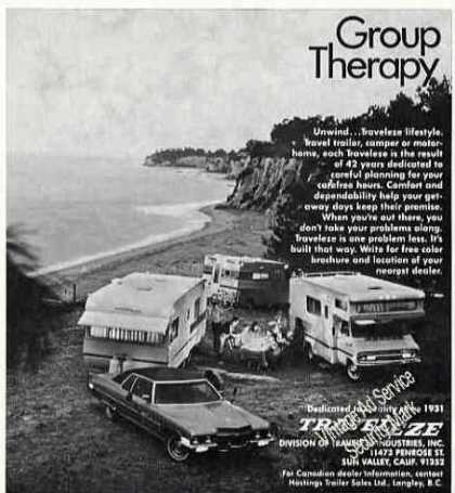 Traveleze Travel Trailer/camper/ (1973)