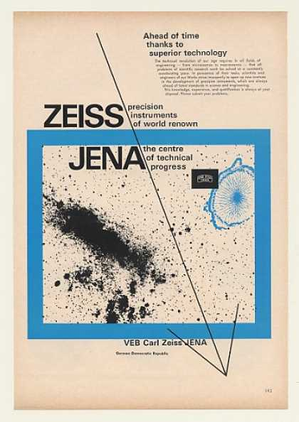 Zeiss JENA Ahead of Time Superior Technology (1968)