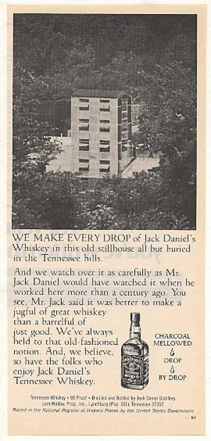 Jack Daniel's Whiskey Old Stillhouse Photo (1977)