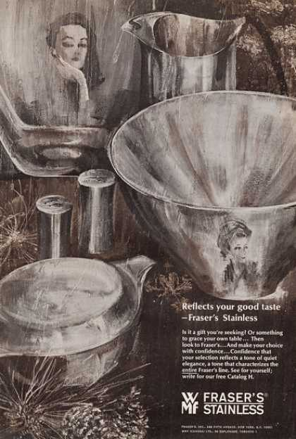 Fraser's Stainless Tableware (1965)