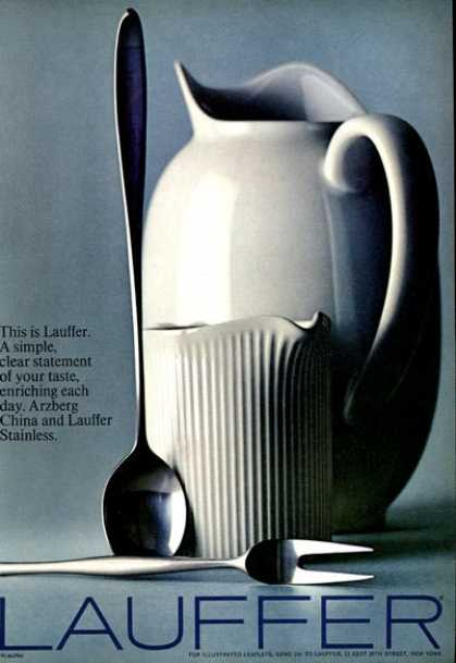 Lauffer Arzberg China Pitcher (1966)