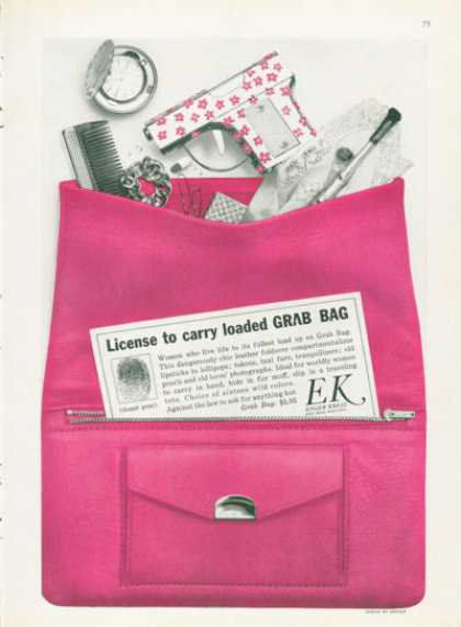 Ek Enger Kress Fashion Grab Bag (1961)