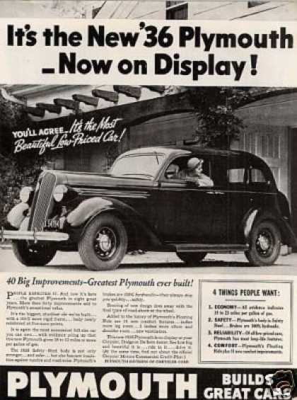 Plymouth Car (1936)