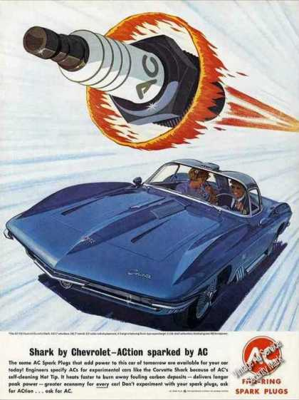 Chevrolet Xp-755 Corvette Shark Dramatic Ac (1963)