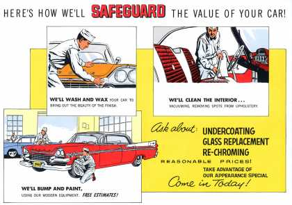 Dodge Safeguard Service mailer (1958)