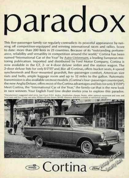 "Ford Cortina Photo ""Paradox"" (1965)"