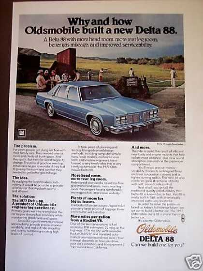 Oldsmobile Delta 88 for 1977 Car Photo (1976)